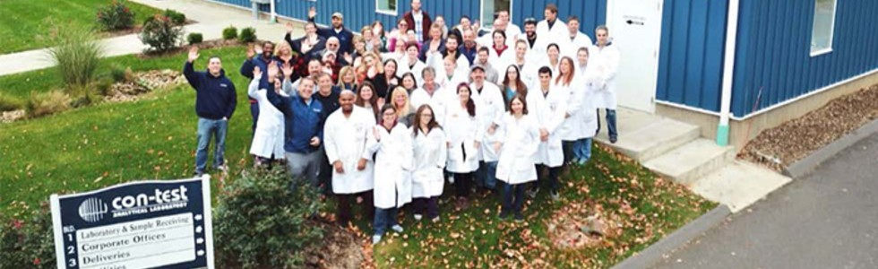 <center>With over 25 years experience, our dedicated staff at Con-Test Analytical Laboratory offers the Con-Test Difference which is a dedicated commitment to providing our clients the very best service in the industry.</center>